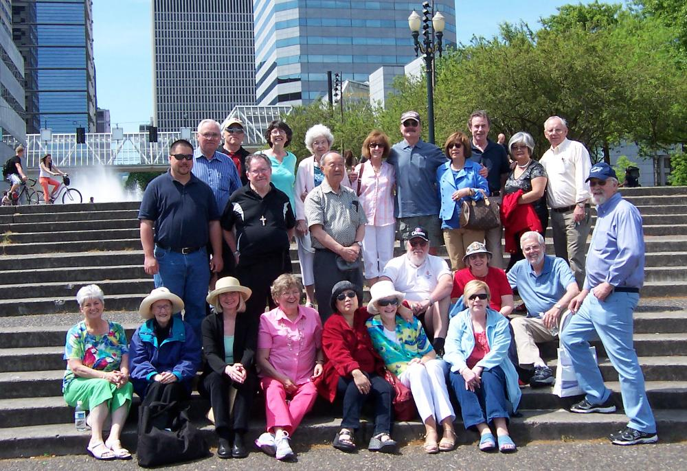 Pacific Northwest CANDOERs on May 14, 2012