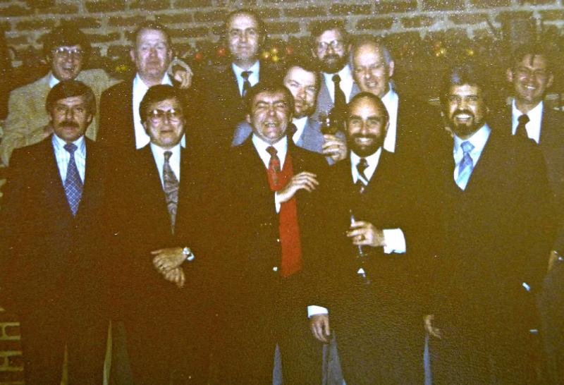 OC/TR Christmas Party in 1978